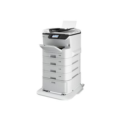 万博max手机版注册(EPSON)WF-C8190a A4/A3+彩色商用墨仓式大型办公打印机 含4个纸盒+工作台(上门安装+3年上门服务)