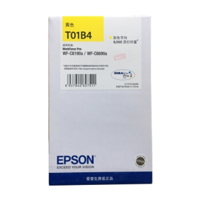 万博max手机版注册(EPSON)T01B3黄色万博maxbet官网登录墨盒 (适用WF-C8690a/WF-C8190a万博官网手机版登录注册)约8000页