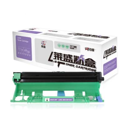 莱盛LSWL-BRO-DR1035打印机硒鼓粉盒耗材(适用兄弟HL-1118/1208/1218W联想s1801施乐P115b)